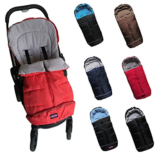 UNIVERSAL FOOTMUFF FITS MOST Todder STROLLERS/SLEEPING BAG COCOON by pro camp