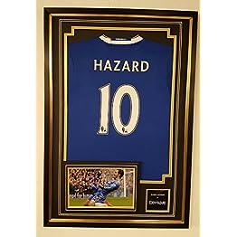 Maillot dédicacé de Eden Hazard de Chelsea