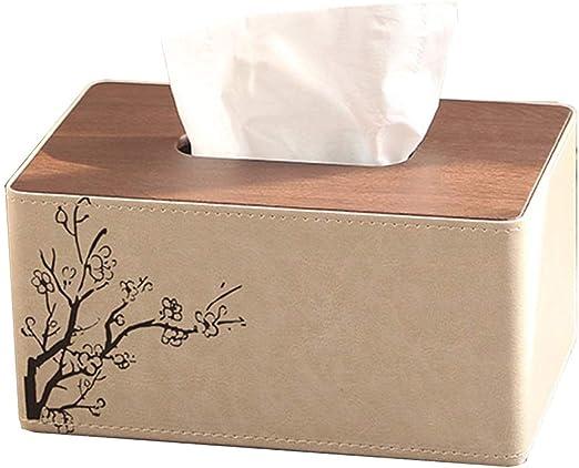 LINANA Bandeja de la Caja del Tejido Creativo Bookbox hogar servilletas de Papel Caja de la Sala Mesa de Nordic Simple pañuelo Caja (Color : Beige, Size : 25 * 13.5 * 10CM): Amazon.es: Hogar