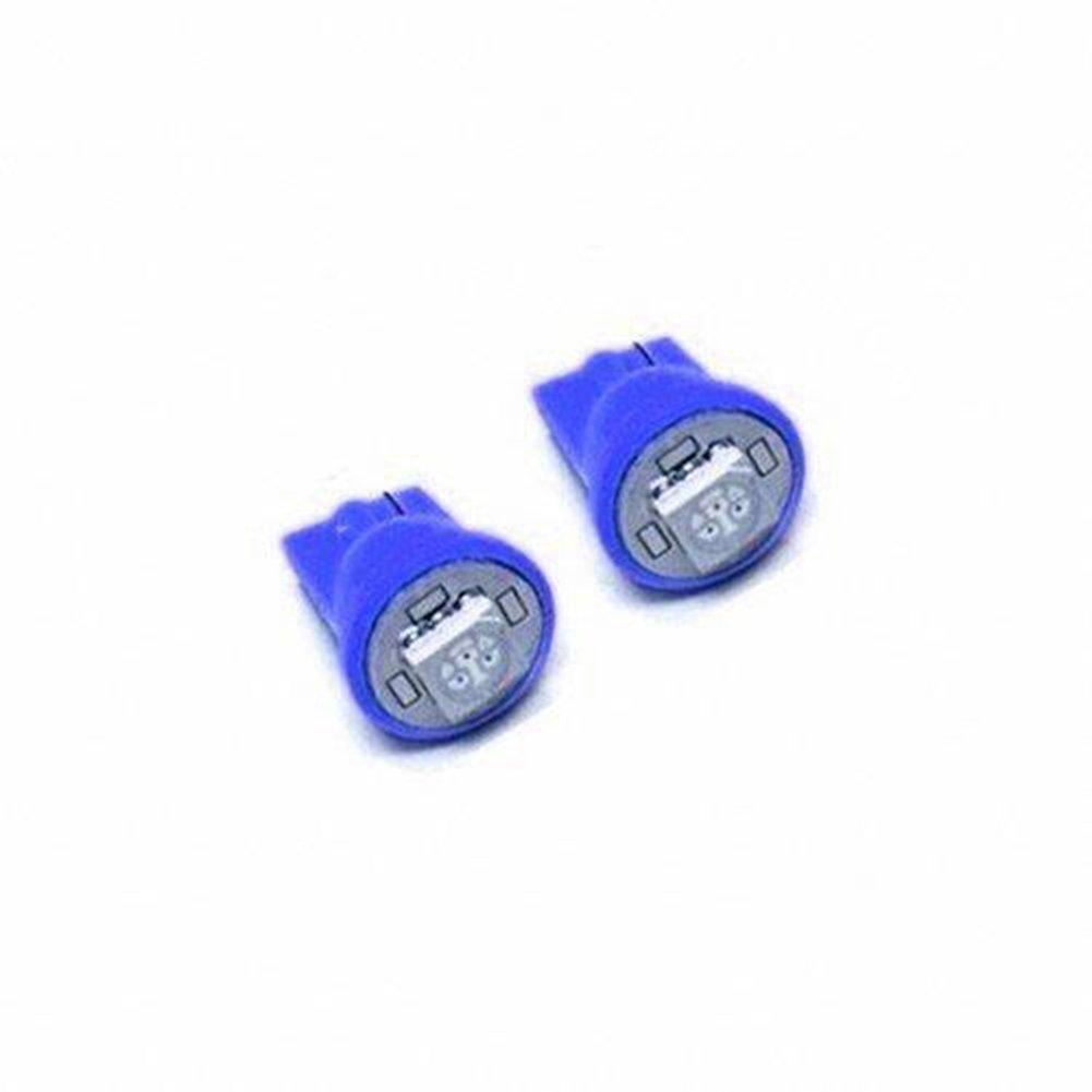 10pcs Car Auto T10 Reverse Parking LED Light Bulb Lamp Blue 12V 5050-SMD