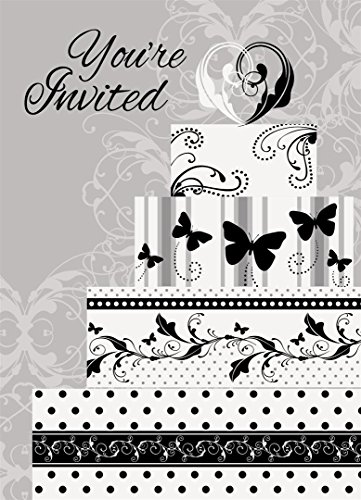 Victorian Wedding Invitations, 8ct (Invitations Mardi Gras Wedding)
