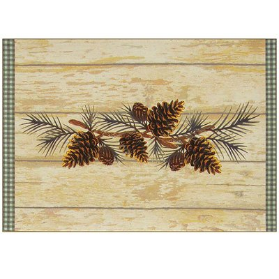 pine cone placemats - 8