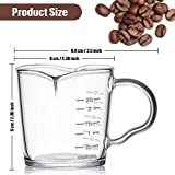 Espresso Shot Glass 3-Ounce Triple Pitcher Barista
