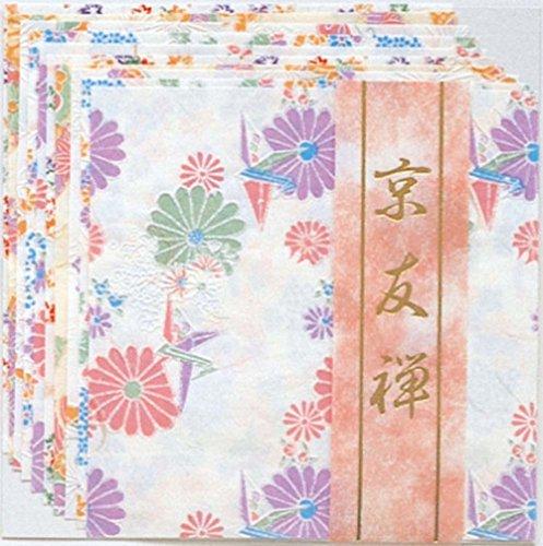 1 X Yuzen Washi Chiyogami Origami Paper 15cm 10 Sheet #3721