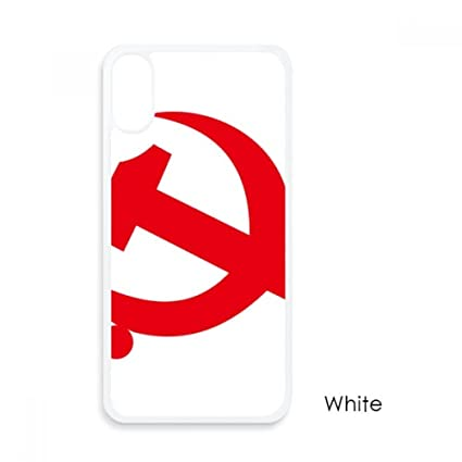 Amazon Chinese Communist Badge Red Symbol For Iphone X Cases