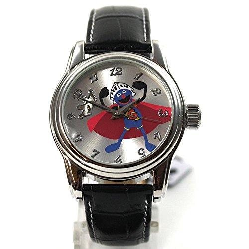 The Muppets Reloj mujer RELOJ Gonzo automático reloj correa de piel brillantes dibujos animados reloj: Amazon.es: Relojes