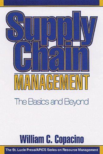 Supply Chain Management  The Basics And Beyond  Resource Management