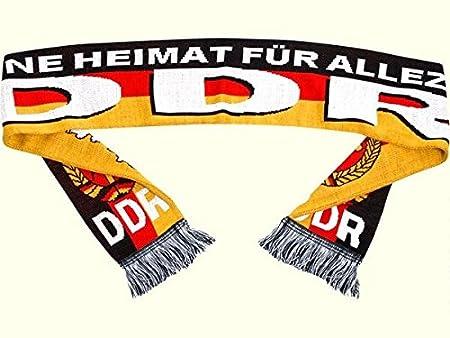 Meine Heimat f/ür alle Zeit DDR Geschenk DDR Traditionsprodukte DDR Schal