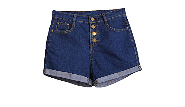 Essentials 2-Pack Girls Denim Jean Short Shorts Pack de 2 Dark Wash//Light Wash 10 a/ños