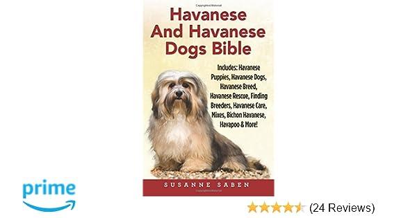 Havanese And Havanese Dogs Bible: Includes Havanese Puppies