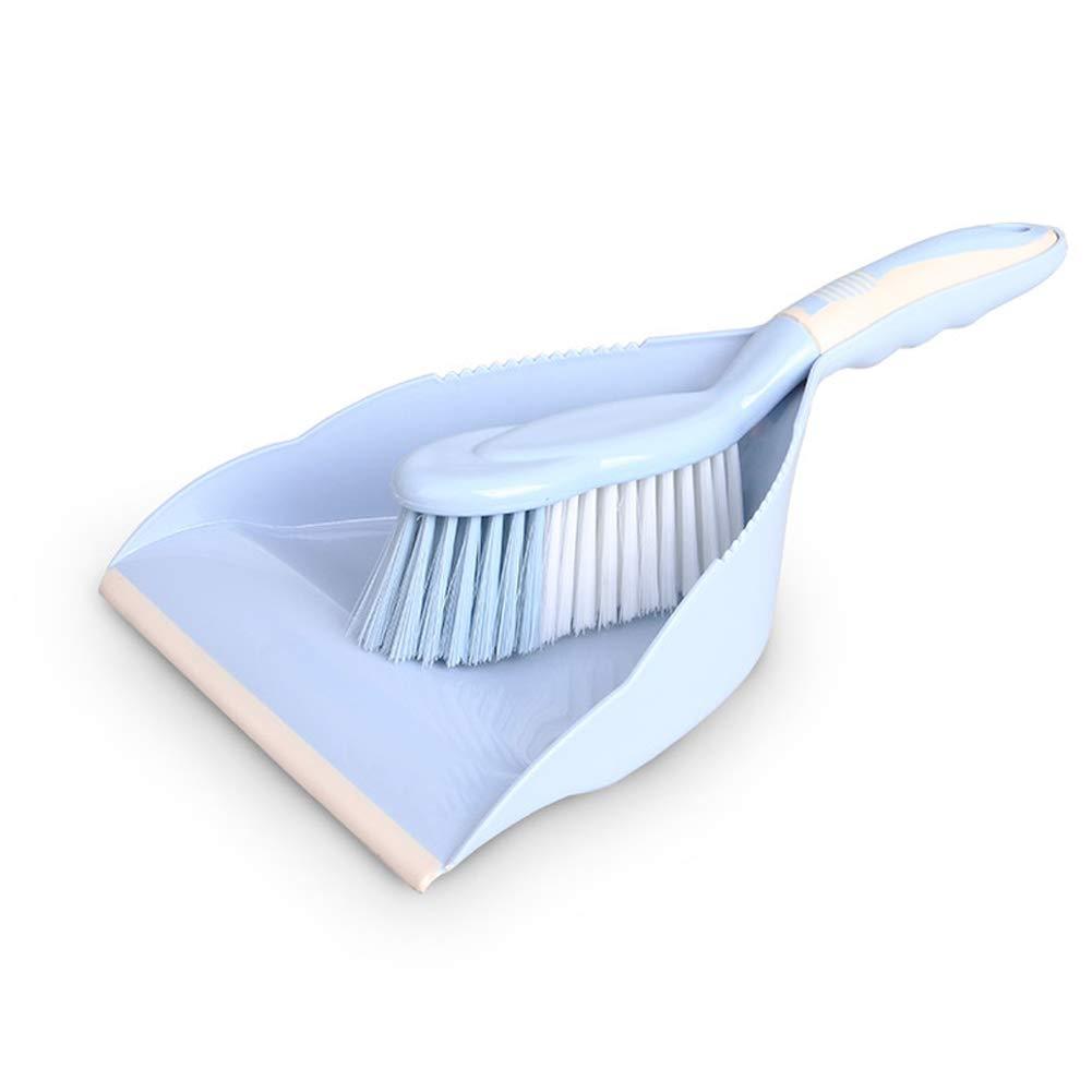Kompakte Emaille Und Pinsel Set - Haushaltsbesen Mini Auto Reinigungsbürste - Sägezahn Design Für Einfache Haarentfernung - Blau B07H4LD9N2 Besen