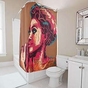 Hollween gift christmas gift custom african for Bathroom paintings amazon