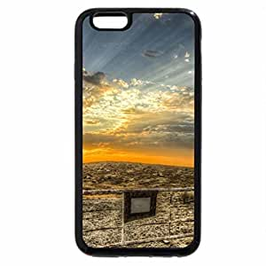 iPhone 6S / iPhone 6 Case (Black) Sunset Over the Plains