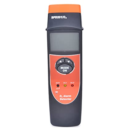 RZ SPD201/O2 Digital Oxygen Content Tester Meter Gas Alarm - - Amazon.com