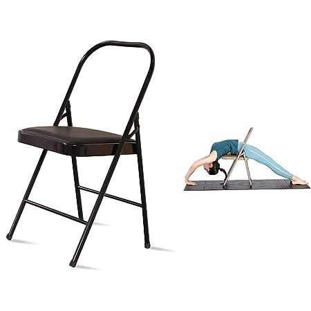 HMJY Silla Invertida Auxiliar de Yoga, Silla de Yoga ...