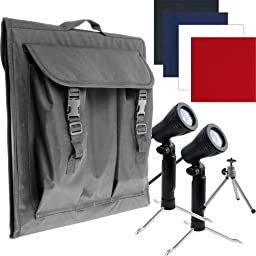 Electric Avenue 82-55614 Deluxe Table Top Photo Studio Photo Light Box