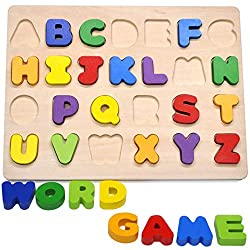 learning abc with a puzzle