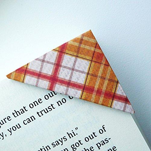 Autumn Bookmark (Bookmarks - 10 Unique Corner Bookmarks - Autumn Love Collection)