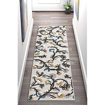 5 x 7 58 x 80 Inches // 150 x 200 cm Skull Nursery Rug Floor Carpet Yoga Mat Naanle Cherry Blossom Skull Non Slip Area Rug for Living Dinning Room Bedroom Kitchen