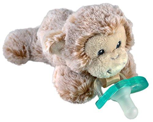 Monkey Buddy - RaZbaby RaZ-Buddy JollyPop Pacifier Holder/Pacifier Removable/JollyPop/Marlow Monkey