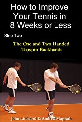 How to Improve Your Tennis in 8 Weeks or Less: Step Two The One and Two Handed Topspin Backhands (English Edition)