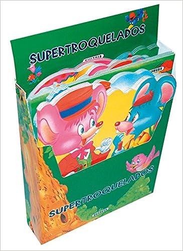 Supertroquelados cuentos clásicos Pack de 24 libros, 8 cuentos diferentes Supertroquelados 4 Tít.: Amazon.es: Susaeta, Equipo: Libros