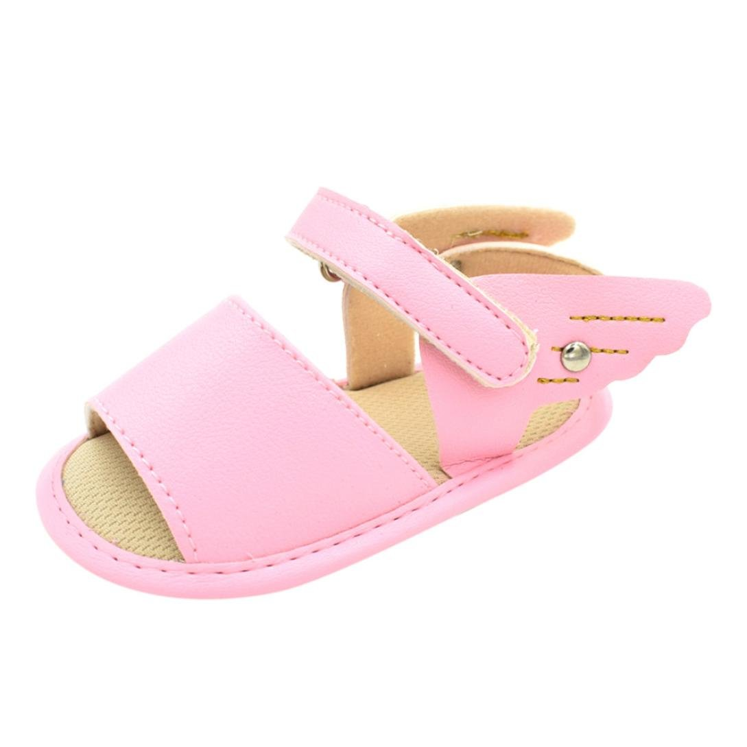 Zapatos Primeros Pasos Beb/é ❤️ Amlaiworld Verano Reci/én Nacido Beb/é Ni/ña ni/ño Sandalias Primeros Pasos Estrella Zapatos Antideslizantes Suaves Zapatilla Zapatos de beb/é Prewalker Sneaker