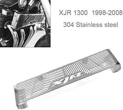 RETYLY Accessoires de Moto Grille de Garde Radiateur Couverture de Grille pour XJR 1300 Xjr1300 1998-2008 Noir
