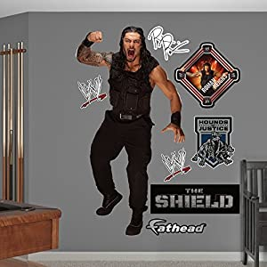 Fathead WWE Roman Reigns Real Big Wall Decal Part 13