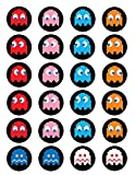 Pacman ~ Cupcake Topper ~ Edible Frosting Image