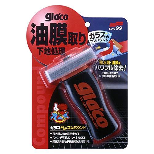SOFT99 ( 소프트99 ) 윈도우 케어 글라코 glaco 콤파운드 04101 발수제 유막 제거