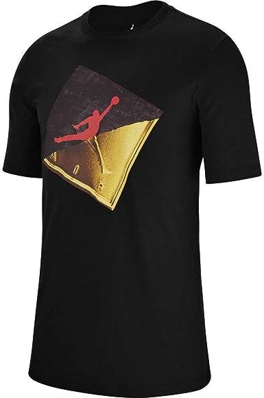 Jordan Slash Jumpman Camiseta Hombre Negro