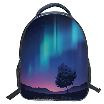 PJ Fashion Backpack Casual Daypack Great School College Bookbag Fit 16inch