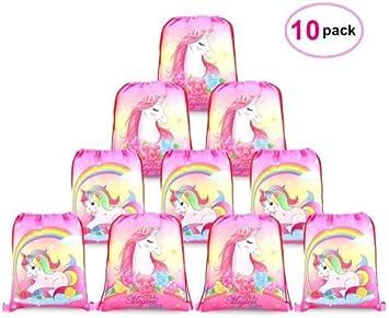Lot de 12 Licorne ordinateurs portables-Children /'s Fête Sac Remplissage Cadeau Garçons Filles
