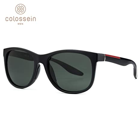 Yangjing-hl Gafas de Sol Hombre Polarized Classic TR90 ...