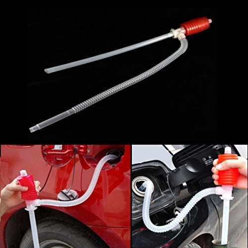 Manual Siphon Pump Car Cleaning Equipments - Car Manual Siphon Pump Portable Gas Oil Water Liquid Transfer Sucker - Arms Non-Automatic - (Flow Drum Pump Tube)