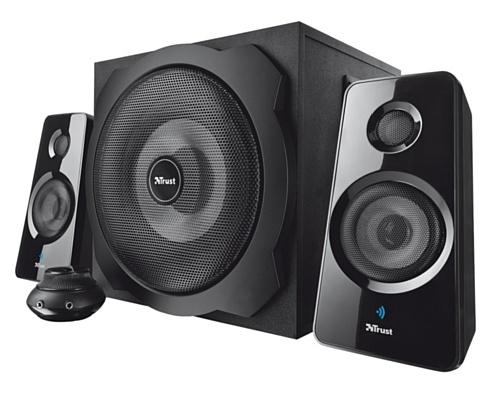 Trust GXT 38 2.1 Subwoofer Lautsprecher für PC und Notebook (60 Watt, 3,5mm klinkenstecker)