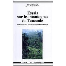 Essais Sur les Montagnes de Tanzanie