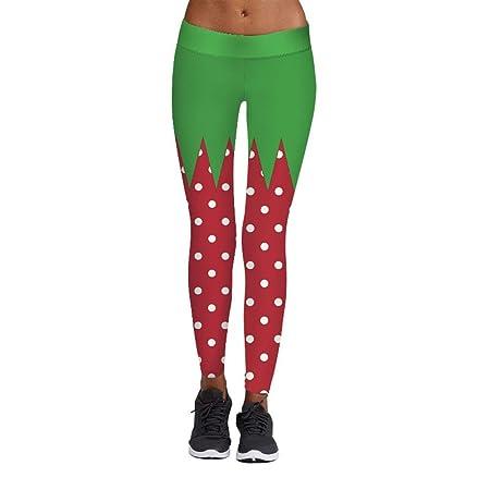 Yiren Campanas De Navidad Pantalones De Chándal Impresión Digital ...