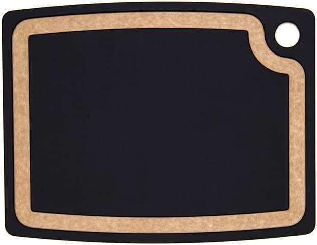 Epicurean Gourmet Series, Cutting Board, 14.5-Inch by 11.25-Inch, Slate/Natural