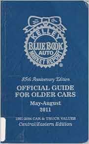 Kelley blue book value cars older than 1990