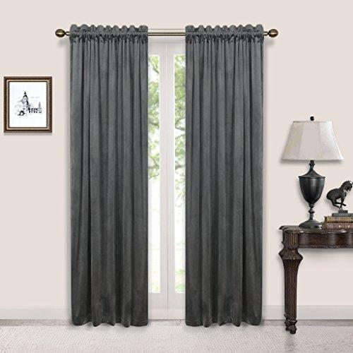 Nicetown-Velvet-Rod-Pocket-Curtains