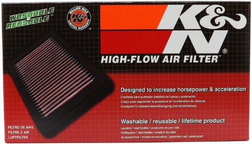 Le filtre /à air de rechange YA-1009 K/&N convient aux YAMAHA YZF R1; 2009-2012 filtres /à air Powersports .