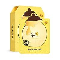 Papa Recipe Bombee Honey Mask Pack (10 sheet) - Korean Beauty Sheet Mask - Honey...