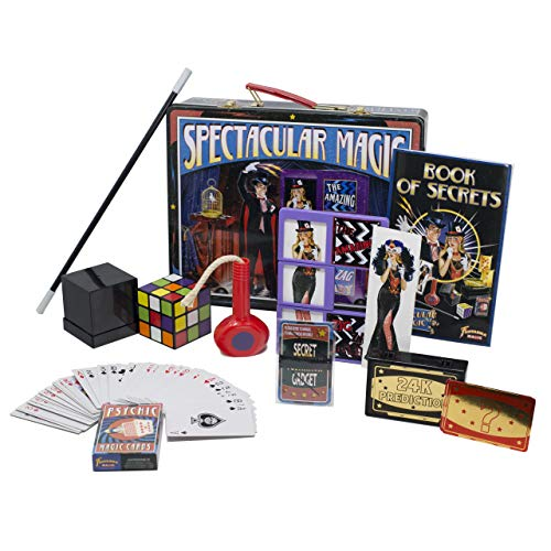 Fantasma Spectacular Magic Box Set for Kids - Magic Kit and Card Trick - Learn 135 Magic Tricks - Great for Boys and Girls 7 Years and Older ()