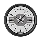 Cheap CafePress – Clock 2 – Large 17″ Round Wall Clock, Unique Decorative Clock