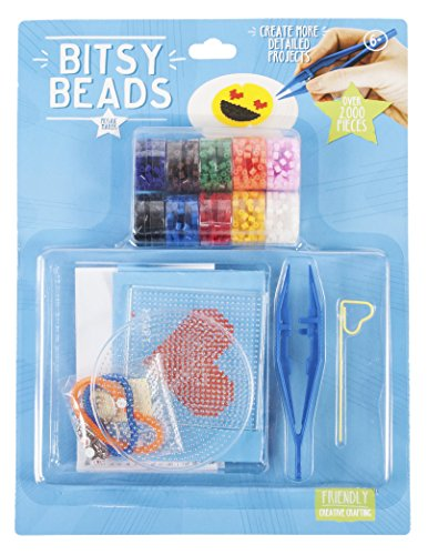 Bitsy Beads Super Kit - Perfect Craft Kit with over 2000 Pieces!! (Smith Set Bracelet)