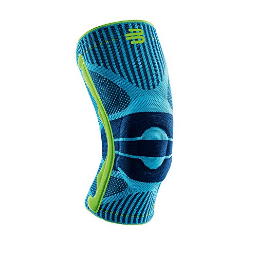 Bauerfeind Sports Knee Support - Breathable Compression (Rivera, Medium) - Golf Standard Golf Flag