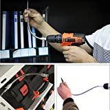 TOOLTOO Flexible Extension Drill Bit Holder for