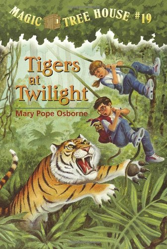 Tigers At Twilight - Book #19 of the Magic Tree House